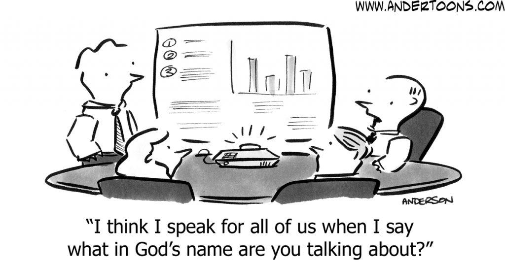 Bad presentation skills